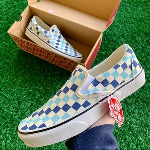 Vans Classic Slip On Topaz